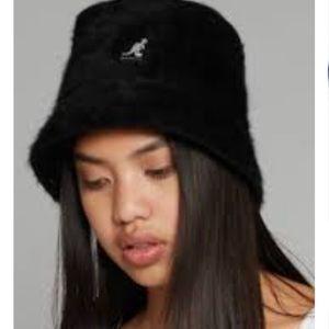 Kangol Furgora Fur Casual Bucket Hat Cap sz large